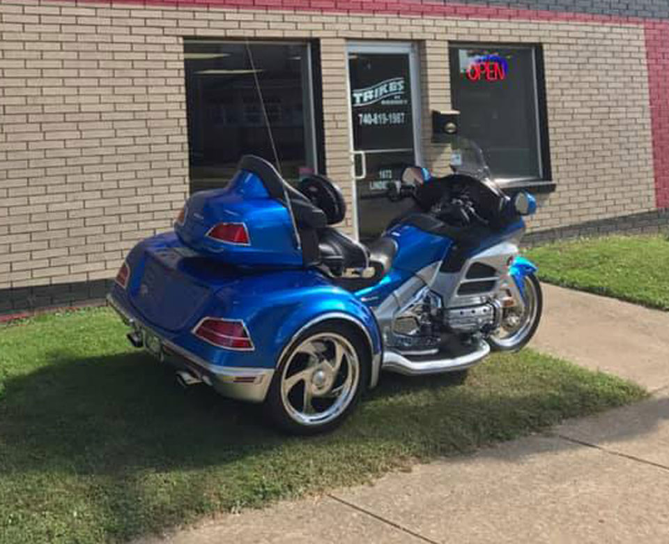 2013 Honda Goldwing California Sidecar