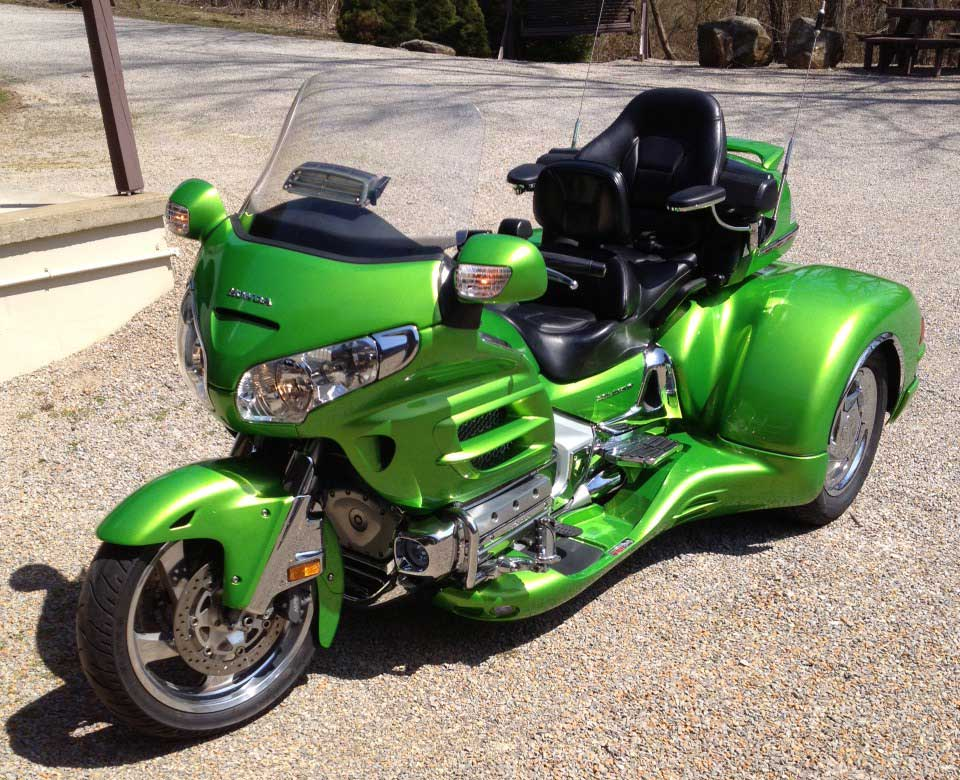 Honda Goldwing California Sidecar Motorcycle Trike Conversion