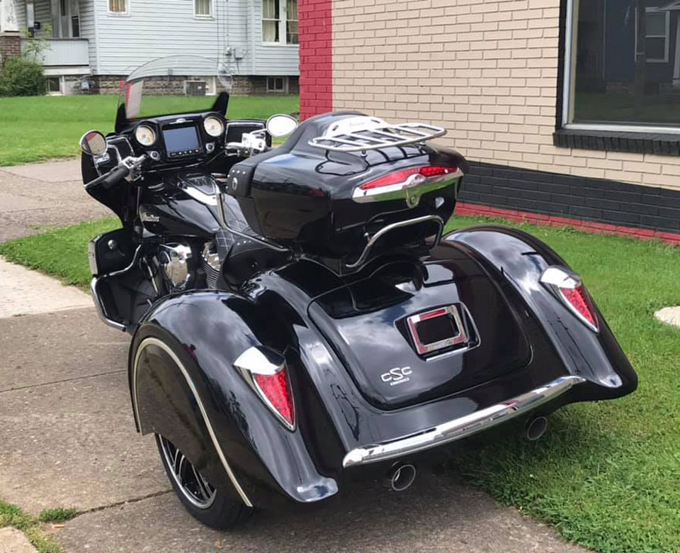 Trikes By Rodney 2018 Indian Roadmaster With California Sidecar Trike Conversion